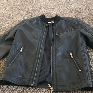 Leather Jacket in Boys